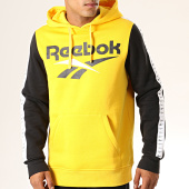 /achat-sweats-capuche/reebok-sweat-capuche-a-bandes-classic-vector-eb3635-jaune-noir-194436.html