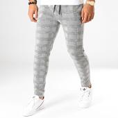 /achat-pantalons-carreaux/terance-kole-pantalon-carreaux-te902-noir-blanc-194310.html