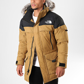 /achat-parkas/the-north-face-parka-fourrure-mc-murdo-2-camel-noir-194274.html