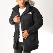 /achat-parkas/the-north-face-parka-fourrure-mc-murdo-2-noir-gris-194275.html