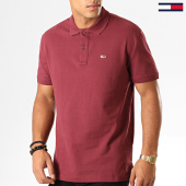 /achat-polos-manches-courtes/tommy-jeans-polo-manches-courtes-classics-solid-7196-bordeaux-194406.html