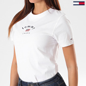 /achat-t-shirts/tommy-hilfiger-jeans-tee-shirt-slim-femme-essential-americ-7164-blanc-194417.html