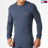 /achat-t-shirts-manches-longues/tommy-hilfiger-jeans-tee-shirt-manches-longues-waffle-6957-bleu-marine-chine-194445.html