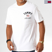 /achat-t-shirts/tommy-hilfiger-jeans-tee-shirt-chest-logo-7008-blanc-194450.html