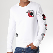 /achat-sweats-col-rond-crewneck/berry-denim-sweat-crewneck-dy010-blanc-194641.html