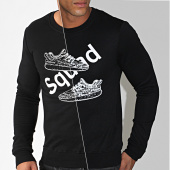 /achat-sweats-col-rond-crewneck/berry-denim-sweat-crewneck-dy007-noir-reflechissant-194643.html