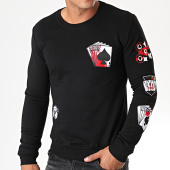 /achat-sweats-col-rond-crewneck/berry-denim-sweat-crewneck-dy010-noir-194667.html