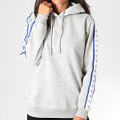 /achat-sweats-capuche/calvin-klein-jeans-sweat-capuche-femme-a-bandes-monogram-tape-2228-gris-chine-194742.html