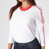 /achat-t-shirts-manches-longues/calvin-klein-jeans-tee-shirt-femme-manches-longues-a-bandes-monogram-tape-straig-2248-blanc-194747.html
