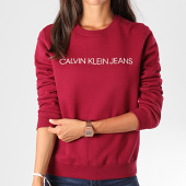 /achat-sweats-col-rond-crewneck/calvin-klein-jeans-sweat-crewneck-femme-institutional-regula-2483-violet-194749.html