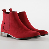 /achat-chelsea-boots/classic-series-chelsea-boots-ub8888-rouge-194767.html