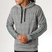 /achat-sweats-capuche/indicode-jeans-sweat-capuche-a-carreaux-avec-bandes-fletcher-gris-194678.html