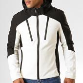 /achat-vestes/mtx-veste-zippee-capuche-937-k1-blanc-casse-noir-194681.html