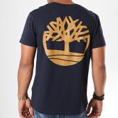 /achat-t-shirts/timberland-tee-shirt-back-logo-1y3s-bleu-marine-marron-194615.html