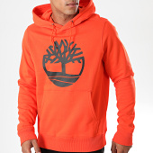 /achat-sweats-capuche/timberland-sweat-capuche-logo-1zky-orange-noir-194618.html