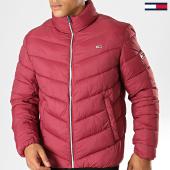 /achat-doudounes/tommy-hilfiger-jeans-doudoune-essential-puffer-6485-rouge-194773.html