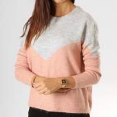 /achat-pulls/vero-moda-pull-femme-rana-gris-chine-rose-194581.html