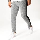 /achat-pantalons-carreaux/aarhon-pantalon-a-carreaux-avec-bandes-19085-gris-194807.html