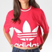 /achat-t-shirts/adidas-tee-shirt-crop-femme-ed4754-rose-fushia-blanc-194911.html