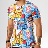 /achat-t-shirts/berry-denim-tee-shirt-jak-138-bleu-clair-jaune-194833.html