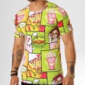 /achat-t-shirts/berry-denim-tee-shirt-jak-138-vert-jaune-194835.html