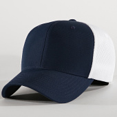 /achat-fitted/flexfit-casquette-fitted-ultrafibre-6533-bleu-marine-blanc-194847.html