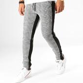 /achat-pantalons-carreaux/frilivin-pantalon-a-carreaux-avec-bandes-1635-gris-194966.html