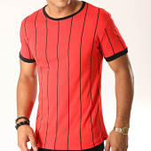 /achat-t-shirts/frilivin-tee-shirt-a-rayures-5351-rouge-194974.html