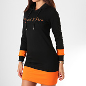 /achat-robes/project-x-robe-sweat-capuche-femme-f197031-noir-orange-194986.html