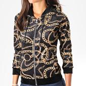/achat-vestes/project-x-veste-zippee-femme-capuche-f193068-noir-jaune-194988.html