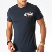 /achat-t-shirts/superdry-tee-shirt-vintage-logo-racer-m1000061a-bleu-marine-194914.html
