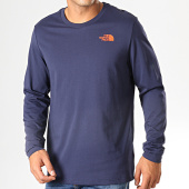 /achat-t-shirts-manches-longues/the-north-face-tee-shirt-manches-longues-easy-2tx1-bleu-marine-194888.html