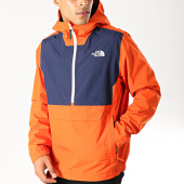 /achat-coupe-vent/the-north-face-coupe-vent-waterproof-3xzm-orange-bleu-marine-194895.html