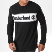 /achat-t-shirts-manches-longues/timberland-tee-shirt-manches-longues-cut-and-sew-logo-1z24-noir-blanc-194876.html
