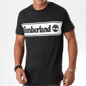 /achat-t-shirts/timberland-tee-shirt-cut-and-sew-logo-1oa4-noir-blanc-194877.html