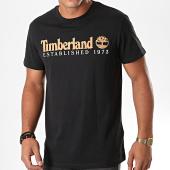 /achat-t-shirts/timberland-tee-shirt-established-1yvg-noir-marron-blanc-194878.html