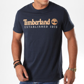/achat-t-shirts/timberland-tee-shirt-established-1yvg-bleu-marine-marron-blanc-194879.html