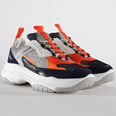 /achat-baskets-basses/calvin-klein-baskets-marvin-low-top-lace-up-nylon-s0592-navy-light-grey-orange-195141.html