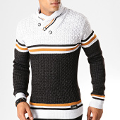 /achat-pulls/classic-series-pull-col-amplified-5231-blanc-chine-noir-chine-195174.html
