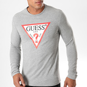 /achat-t-shirts-manches-longues/guess-tee-shirt-manches-longues-m94i43-j1300-gris-chine-blanc-rouge-195219.html