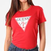/achat-t-shirts/guess-tee-shirt-slim-femme-w94i29-k19u1-rouge-195241.html