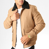 /achat-vestes/jack-and-jones-veste-zippee-col-mouton-peaky-wool-beige-195069.html