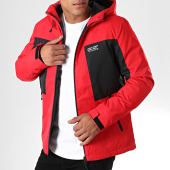 /achat-vestes/jack-and-jones-veste-zippee-capuche-best-rouge-noir-195071.html
