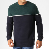 /achat-pulls/jack-and-jones-pull-brit-vert-bleu-marine-195154.html