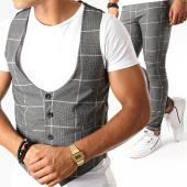 /achat-pantalons-carreaux/mtx-ensemble-gilet-et-pantalon-a-carreaux-dj310-gris-anthracite-195046.html
