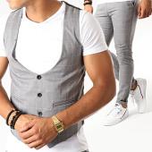 /achat-pantalons-carreaux/mtx-ensemble-gilet-et-pantalon-a-carreaux-dj313-gris-195047.html