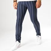 /achat-pantalons-carreaux/mtx-pantalon-a-rayures-dj523-bleu-marine-195048.html