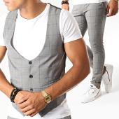 /achat-pantalons-carreaux/mtx-ensemble-gilet-et-pantalon-a-carreaux-dj305-gris-195082.html