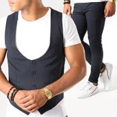 /achat-pantalons-carreaux/mtx-ensemble-gilet-et-pantalon-dj317-bleu-marine-195102.html
