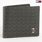 /achat-portefeuilles/tommy-hilfiger-portefeuille-plaque-mono-mini-5054-noir-195017.html